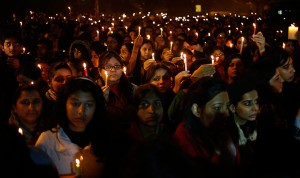 Candlelight vigil for Delhi rape victim image